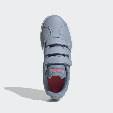 Kids 4-8 Years Lifestyle Blue VL Court 2.0 Shoes