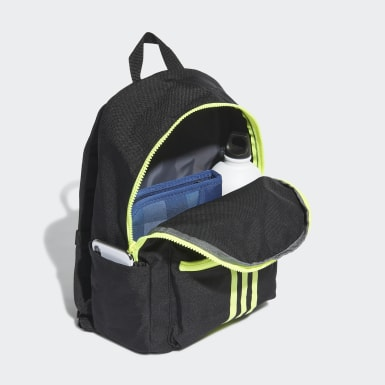 Children Training Black Classic Backpack