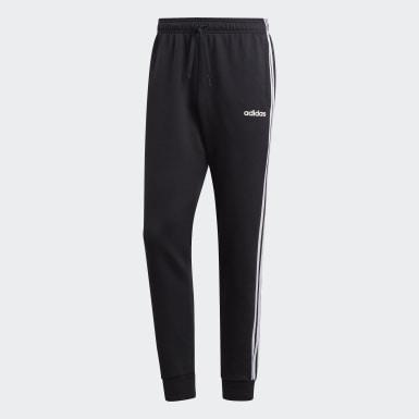 Pantaloni Essentials 3-Stripes Tapered Cuffed Nero Uomo Athletics