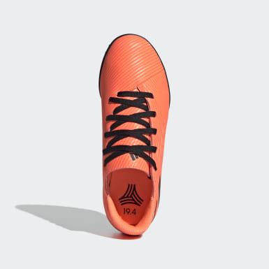 Children Soccer Orange Goletto VII Turf Shoes