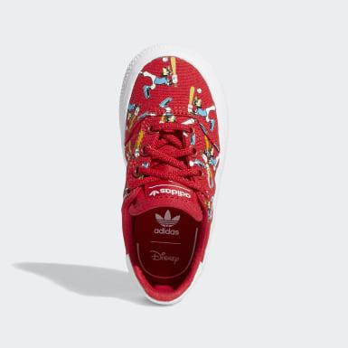 Sapatos 3MC x Disney Goofy Sport Vermelho Criança Originals