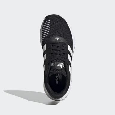 Youth Originals Black Swift Run RF Shoes