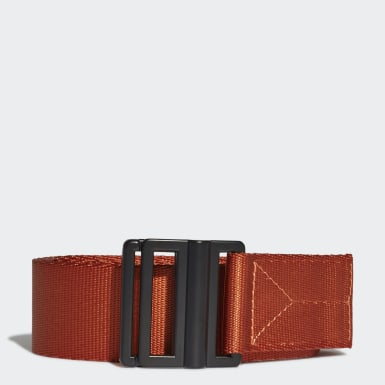 Y-3 Orange Y-3 Classic Logo Belt