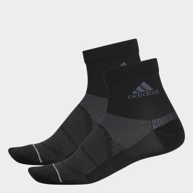 Men's Training Black Superlite Prime Mesh III Quarter Socks 2 Pairs