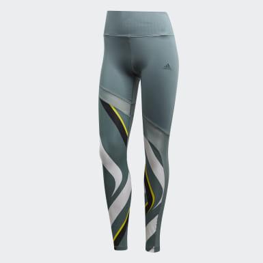 Kadın Training Green Ultimate Desenli Tayt