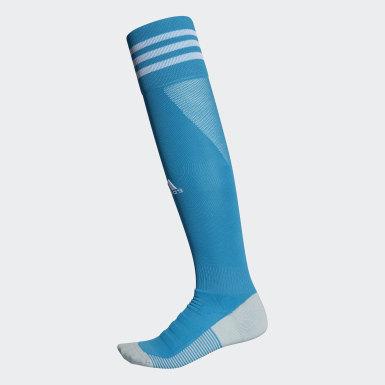 Calcetines AdiSocks con largo a la rodilla (UNISEX) Turquesa Fútbol