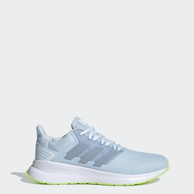 Sapatos Runfalcon Azul Mulher Running