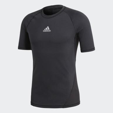 черный Футболка Alphaskin Sport