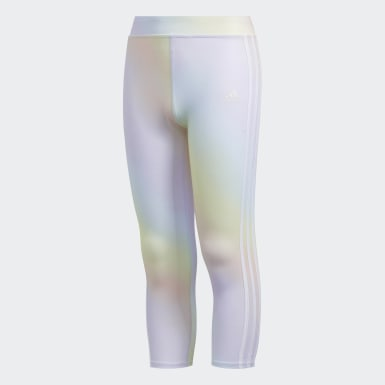 Iridescence Print 7/8 Tights
