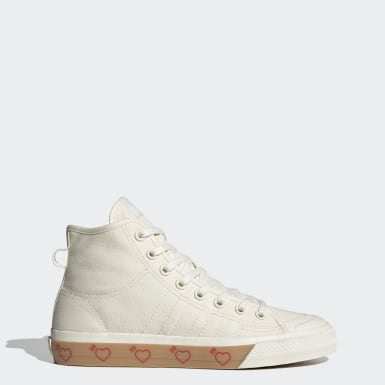 Originals White Human Made Nizza Hi Shoes