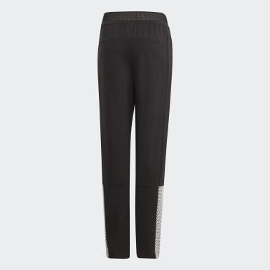 Dívky Trénink černá Kalhoty ID