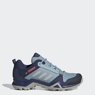 Kadın TERREX Mavi Terrex AX3 Yürüyüş Ayakkabısı