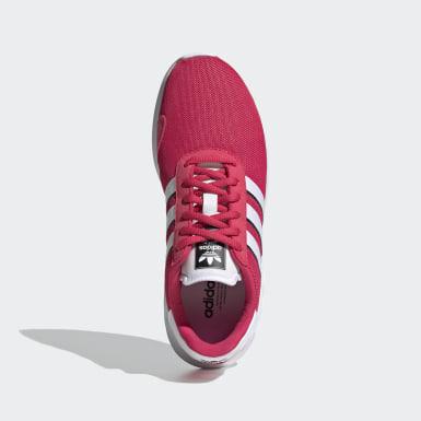Girls Originals Pink LA Trainer Lite sko