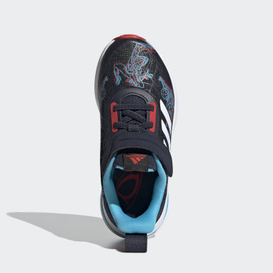 Kids 4-8 Years Running Blue Marvel Spider-Man FortaRun Shoes