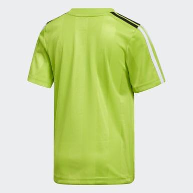 T-shirt Stripe vert Adolescents Entraînement
