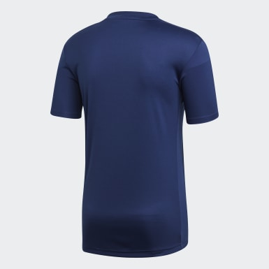 Men Training Blue Striped 19 Jersey