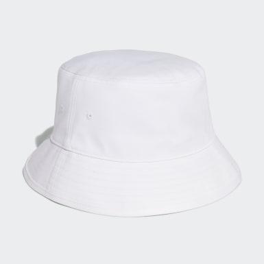 Originals White Adicolor Trefoil Bucket Hat