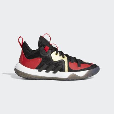 Kinderen Basketbal zwart Harden Step-Back 2.0 Schoenen