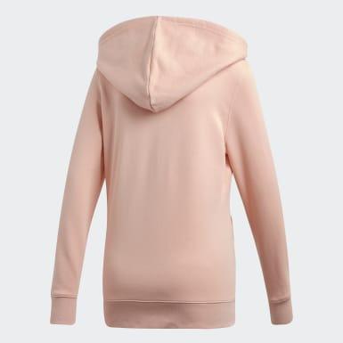 Women Originals Pink Trefoil Hoodie