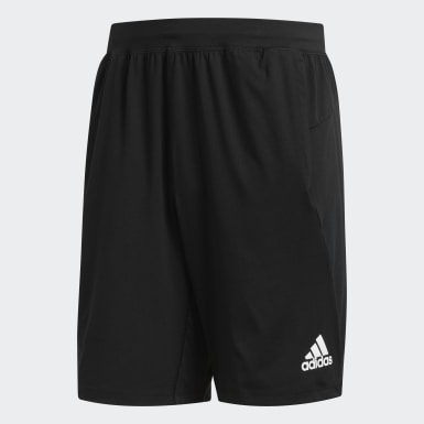 Men Yoga Black 4KRFT Sport Ultimate 9-Inch Knit Shorts