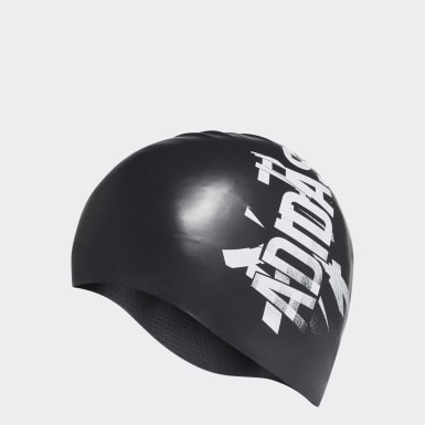 Bonnet de natation Silicone Noir Natation