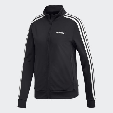 Women Training Black Essentials Tricot Track Jacket