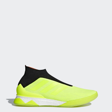 Men Football Yellow Predator Tango 18+ Shoes