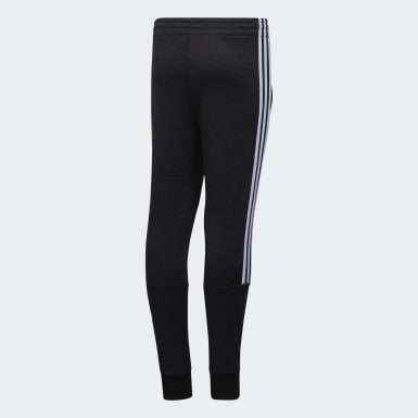 Youth Training Black Badge of Sport Fleece Joggers
