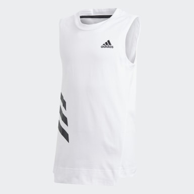 Camiseta de tirantes XFG Blanco Niño Athletics
