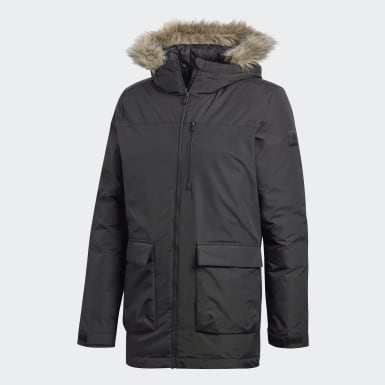 Men Urban Outdoor Black Xploric Parka