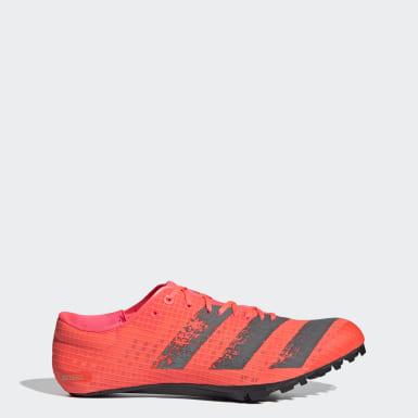 Sapatos de Bicos Adizero Finesse Rosa Atletismo