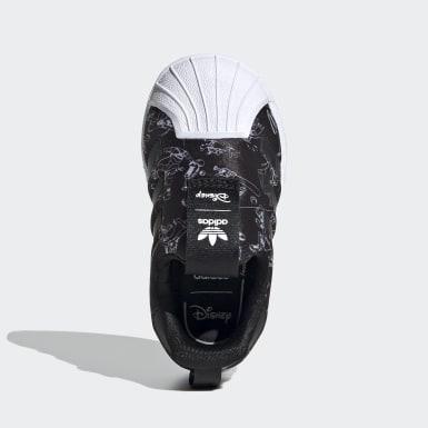 черный Кроссовки-слипоны Superstar 360