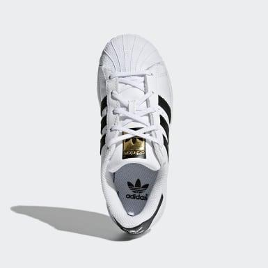 Çocuklar Originals White Superstar Ayakkabı
