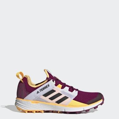 Sapatos de Trail Running Speed LD TERREX Roxo Mulher TERREX