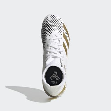 Børn Fodbold Hvid Predator Mutator 20.3 indendørsstøvler