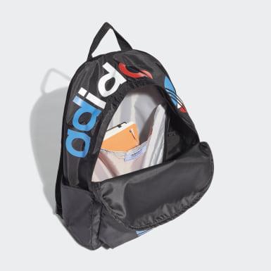 Originals Black Adicolor Tricolor Classic Backpack