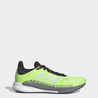 Men Running Green SolarGlide 3 Shoes