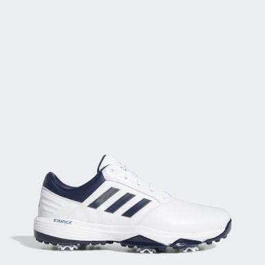 Men Golf White 360 Bounce 2.0 Golf Shoes