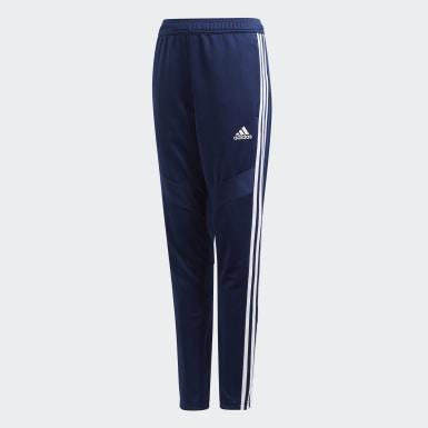 Pants de Entrenamiento Tiro 19 Azul Niño Fútbol