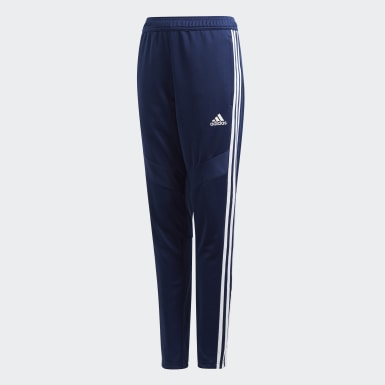 Youth 8-16 Years Training Blue Tiro 19 Training Tracksuit Bottoms