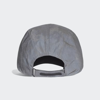 Running Grey Run Reflective Cap