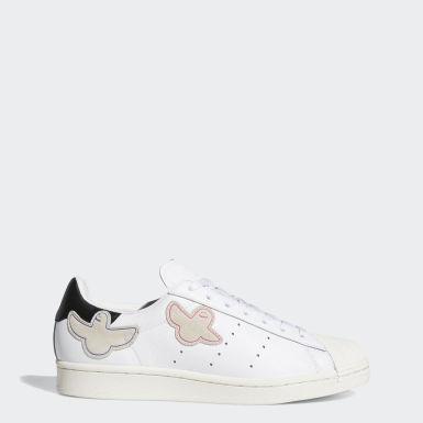 Sapatos Superstar ADV x Gonz Branco Originals