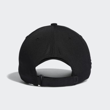 Men Golf Black Crestable Performance Hat