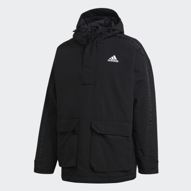 Men Urban Outdoor Black Utilitas Anorak