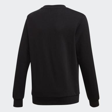 Girls Originals Black LZ Crew Sweatshirt