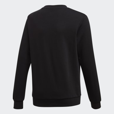 Mädchen Originals LZ Sweatshirt Schwarz