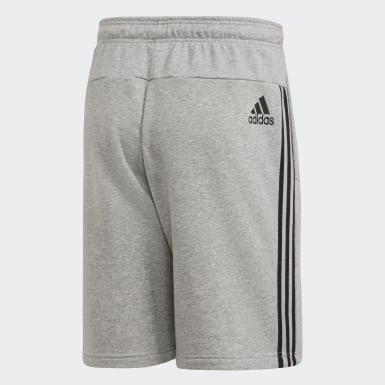 MH 3S Short FT Plomo Hombre Athletics