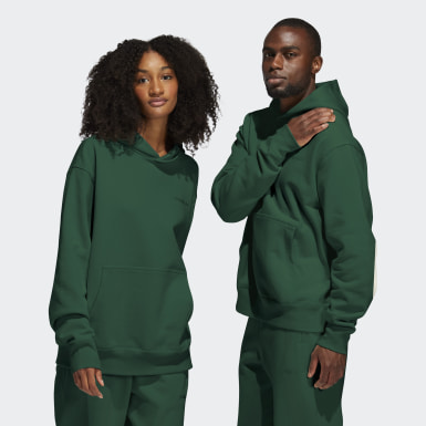 Originals Groen Pharrell Williams Basics Hoodie (Uniseks)
