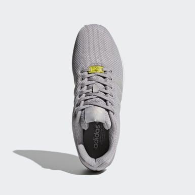 Sapatos ZX Flux Cinzento Originals