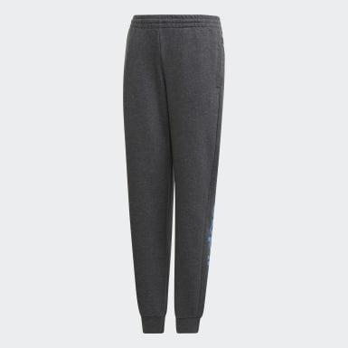 Girls Træning Grå Linear bukser